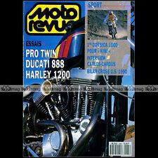 MOTO REVUE 2965 DUCATI 888 CARLOS CARDUS KAWASAKI KR1 GAS GAS 250 SX US 1990