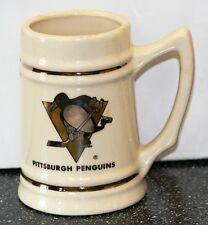 Pittsburgh Penguins Vintage NHL Ceramic Mug Stein Lewis Bros
