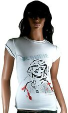 Amplified Blondie pedrería VIP 70 80'er discoteca rock Star Vintage Wow t-shirt XS/s