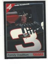 1991 TRAKS NASCAR RACING TEAM SET DALE EARNHARDT #17 - FAMILY TRADITION