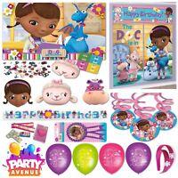 Doc McStuffins Party Tableware Decorations Balloons Favours