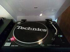 More details for technics sl-1210mk2 turntable (black) with ortofon om5e cartridge