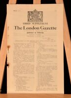 1946-8 6 Vol Supplement London Gazette War Office Middle East African Campaign