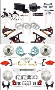 1964-72 Chevelle Stock Height Wilwood Disc Brake Conversion Package w/ A-Arms