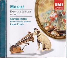 Mozart: Exultate Jubilate, Arie / Previn, Kathleen Battle, Royal Po - CD