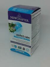 New Chapter Perfect Calm Multivitamin 72 Tablets ~ Free Shipping