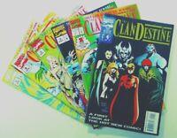Marvel CLANDESTINE (1994) #0 1 2 3 4 5 LOT Run SET VF Ships FREE!