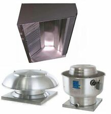 Superior Hoods S6hp Qs 6ft Restaurant Hood System With Make Up Air Amp Exhaust Fans