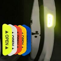 4X Car Safety Reflective Tape Sticker Door Open Reflector Warning Sticker