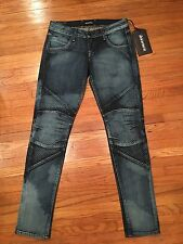 THE SINCLAIR MFGRP Jeans PROUVE Stick Fit Skinny Stretch Blue  28W 30L    (R204)