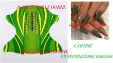 500 NAIL FORM CARTINE FARFALLA TRIBALE  RICOSTRUZIONE BUTTERFLY UNGHIE GEL UV