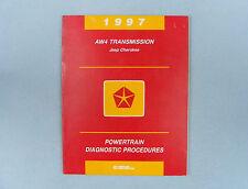 Powertrain Diag. Procedures, AW4 Trans, 1997 Jeep Cherokee (XJ), 81-699-96043