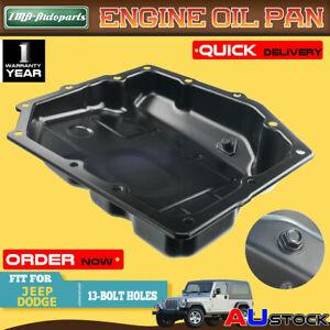 Oil Pan Sump for Dodge 4 Speed Chrysler 300C Jeep Cherokee Wrangler 2006-2013