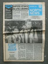 NORTH MELBOURNE 1990 members newspaper NORTH NEWS 24 pages good cond.