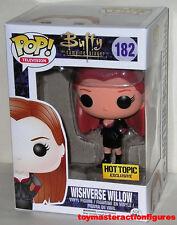 Funko 2014 Pop Buffy Vampire Slayer Goth Willow #182 Hot Topic Sealed In Stock