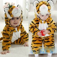 Baby Boy Girl Tiger Carnival Fancy Dress Party Costume Outfit Clothes 3-24M
