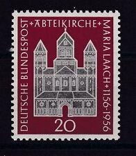Postfrische Briefmarken aus der BRD (1955-1959) mit Bauwerks-Motiv