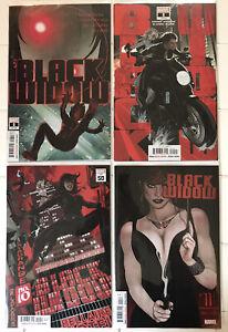 Black Widow Vol 9 #8 9 10 11 NM 1st Prints! Marvel 2021
