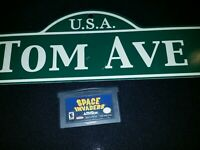Space Invaders Original Nintendo Gameboy ADVANCE GBA Tested AUTHENTIC (A07)