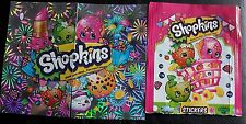 SHOPKINS, FULL SET OF STICKERS X237
