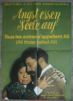 Angst Essen Seele auf Alle Les Weitere S'Appellent Ali Plakat Kino Movie Plakat