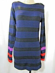 HUGO BOSS Striped Knit Tunic Blouse Size L