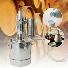 30L Edelstahl kessel Alkohol Destillieranlage haus Destille Wein Schnapsbrennen