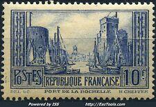 FRANCE LA ROCHELLE N° 261 NEUF * AVEC CHARNIERE
