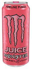 MONSTER ENERGY DRINK– PIPELINE PUNCH -NEU!  - VOLL UND RAR!