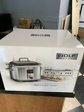 WOLF Gourmet WGSC100S Multi Function Cooker - Slow Cook New In Box
