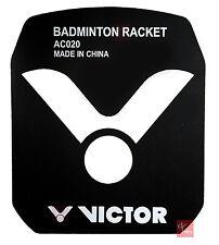 Victor Badminton Racket String Stencil