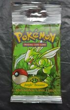 Pokemon Cards Sealed Jungle Booster Pack Long Tab Scyther WOTC 2000