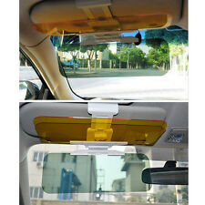 Car Anti-Glare Goggle Day & Night Vision Driving Mirror Sun Visors Clip Board FY