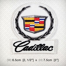 new Cadillac Embroidered Iron On Patch Sew Hat jacket Vest CLASSIC VINTAGE GRAND