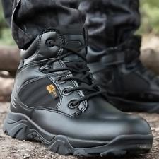 Men's Tactical Military Combat Desert Boot High Top Non-Slip Boot Training Shoes