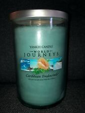 Yankee Candle World Journeys candle Caribbean Tradewinds NEW
