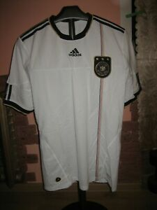 GERMANY(Deutchland)Football National Team Adidas Home 2010 Jersey/Shirt size L