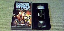 DOCTOR WHO REVENGE OF THE CYBERMEN TOM BAKER BBC UK PAL VHS VIDEO 1999 UNCUT