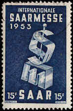 Scott # 246 - 1953 - ' Saar Fair '