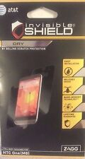 New OEM ZAGG InvisibleShield Dry Scratch Protection Full Body for HTC One M8