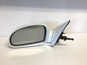 2004-2009 KIA SPECTRA Lever Sedan 4 Door Driver Side View DOOR Mirror WHITE OEM