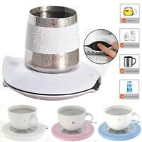 Smart Electric Cup Mug Warmer Coaster Coffee Tea Milk Drink Heater Pad Office