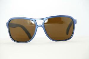 Vintage Vuarnet 003D Small Black Sunglasses PX3000 Gray lens