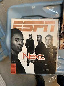 Kobe Bryant Rare Cover Vintage 1998 ESPN Magazine Premier Issue