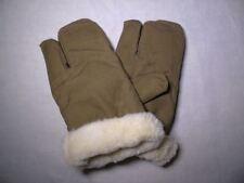 Soviet Russian Army 3-finger winter combat Fur gloves