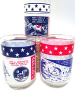 1969-1970 Apollo 11, 12, and 13 Moon Landing Commemorative Glass short Tumbler
