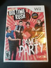Brand new Big Time Rush: Dance Party (Nintendo Wii, 2012)  BRAND NEW SEALED