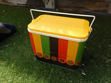 Willow colorful vintage tin Ice box, Item 453, Pick up Langwarrin
