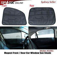 Car Sunshade UV Curtain Screen Cover Magnetic Mesh Front Back Rear Window CT051