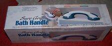 "Sure Grip BATH HANDLE - w/2 Suction Cups - 11.5"" Long - NIB!"